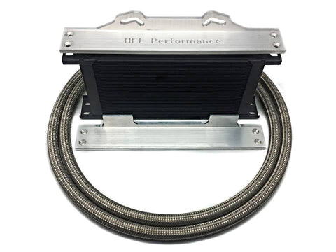 HEL Oil Cooler Kit for Mitsubishi EVO 1-5 > 19 or 25 row