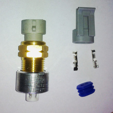 GM Inlet Air Temperature (IAT) Sensor with Weld Bung and Connector