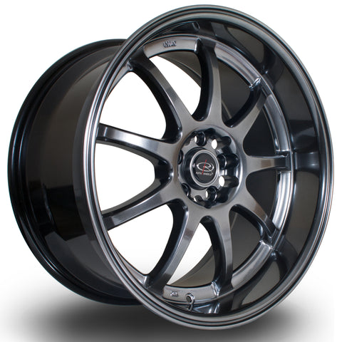 Rota P1R 18x9.5 5x100 ET38 White Alloy wheel