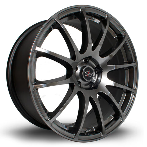 Rota PWR 19x8.5 5x120 ET48 Hyper Black Alloy wheel