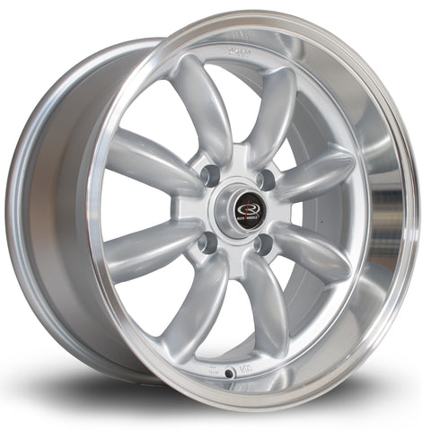 Rota RBX 17x9 4x114 ET-13 Gunmetal with Lip Alloy wheel