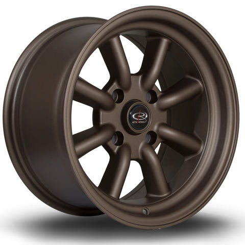 Rota RKR 15x8 4x108 ET0 Flat Black Alloy wheel