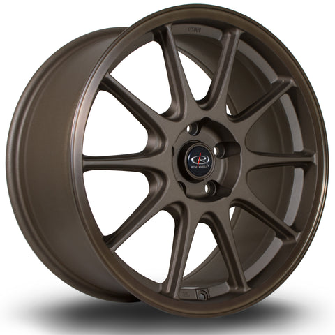 Rota Strike 15x8 4x100 ET20 Flat Black Alloy wheel