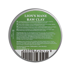 Lion's Mane Raw Clay