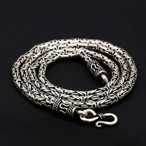 chain bali unique necklaces byzantine silver chains chunky