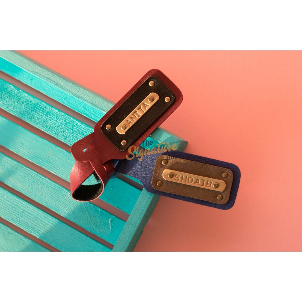 Personalised Luggage Tag. Personalised Travel Accessories.