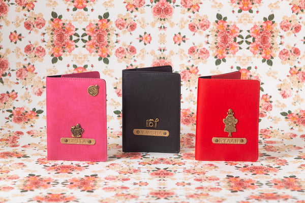 Personalized Passport Cover Set Of 3