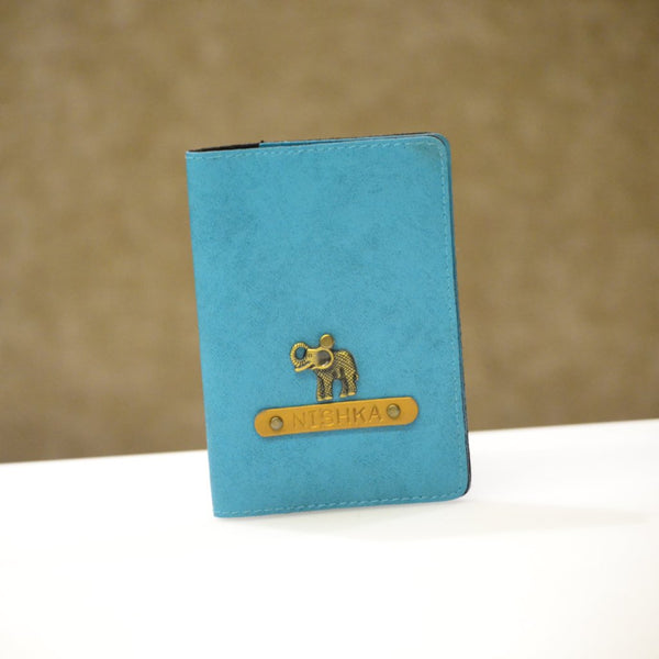 Light Blue Passport Cover