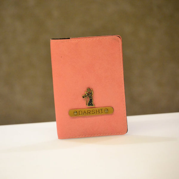 Baby Pink Passport Cover