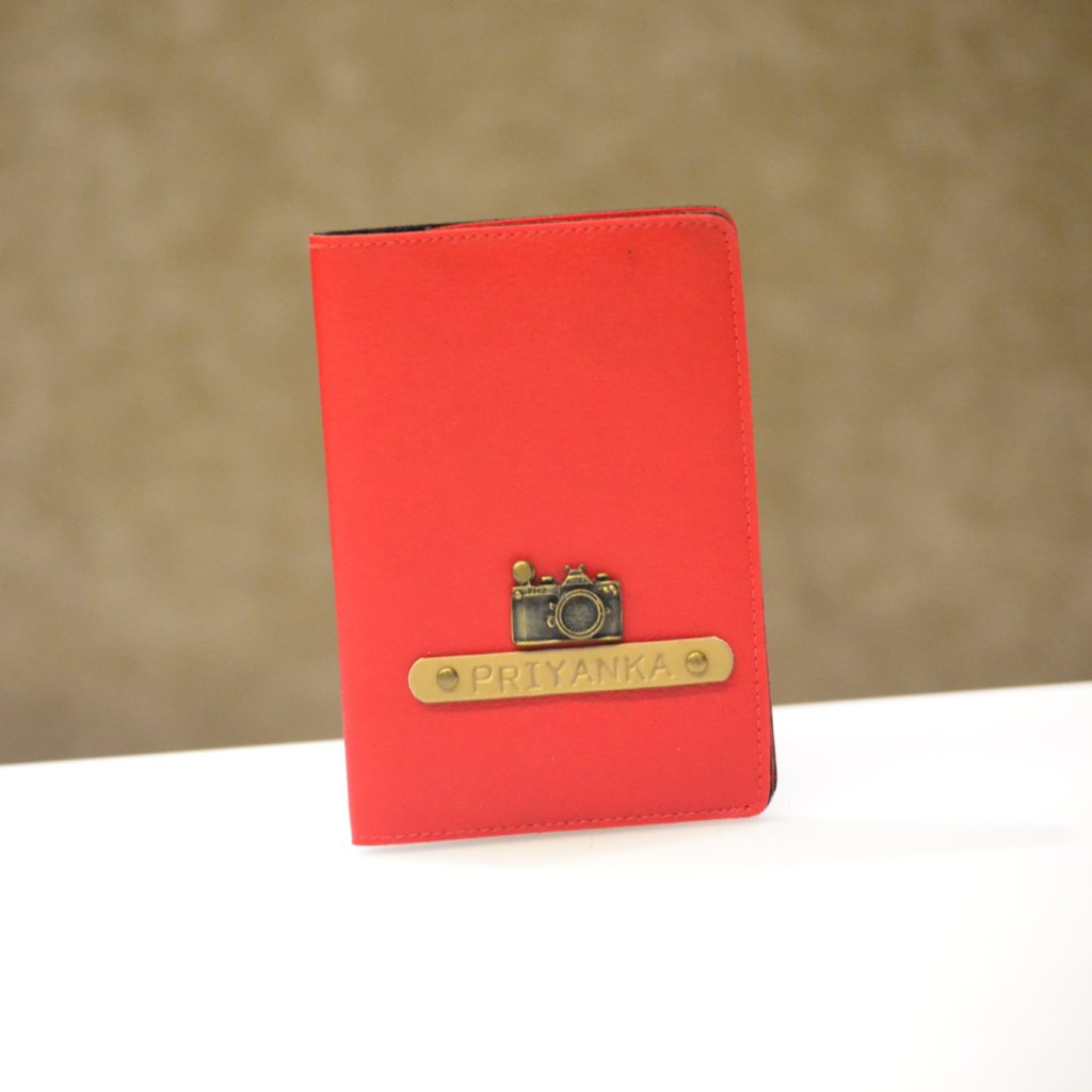 Cherry Red Passport Cover
