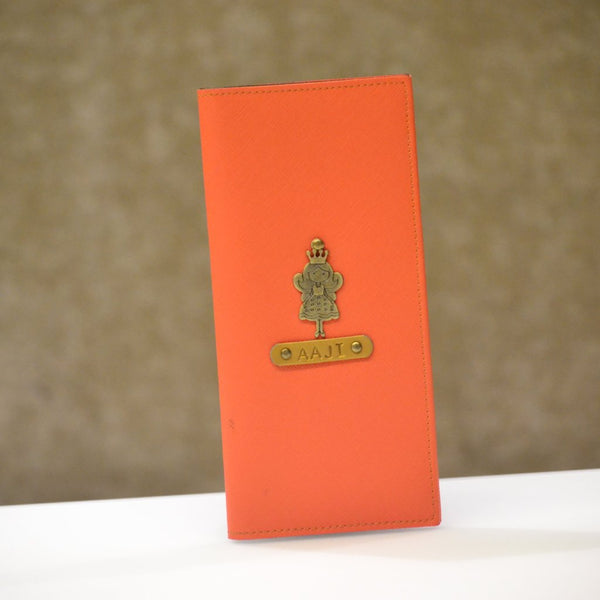 Orange Travel Folder