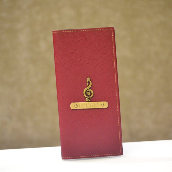 Personalized Wine Travel Folder