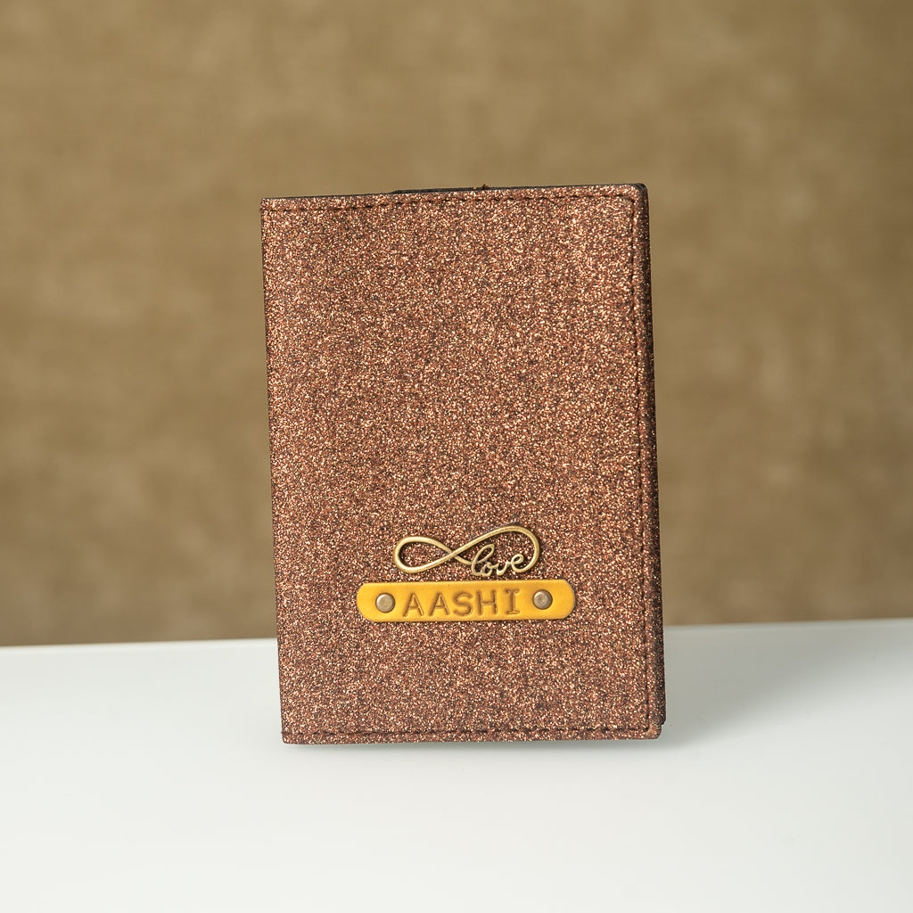 Rust Shimmer Passport Cover