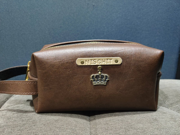 Coffee Brown Big Pouch