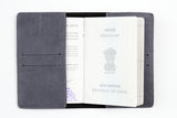 Grey Passport Cover