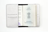 Silver Passport Cover