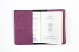 Magenta Passport Cover