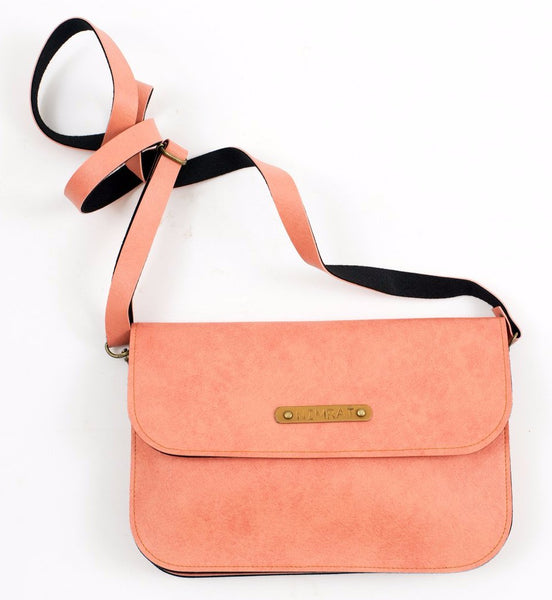 Personalized Pink Sling Bag