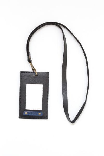 Charcoal Black Corporate ID Card Holder
