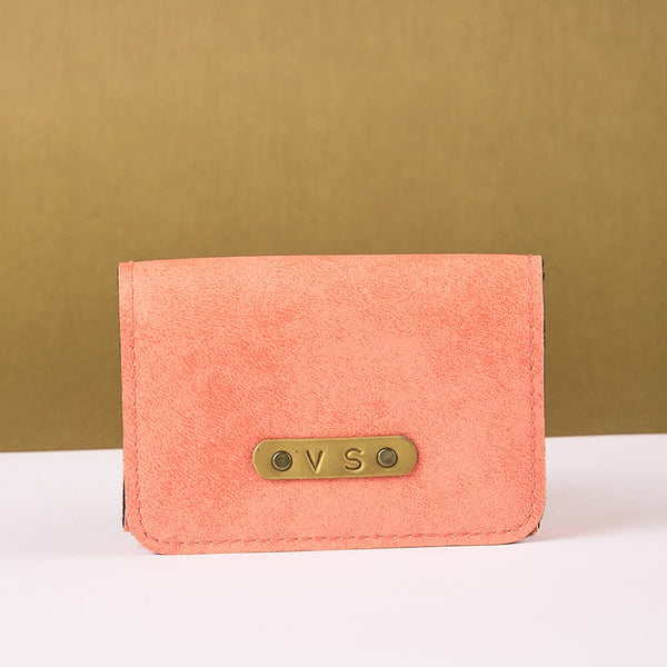 Baby Pink Business Card Holder