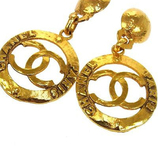 Vintage Chanel RARE Clip On Earrings - FABULUXE