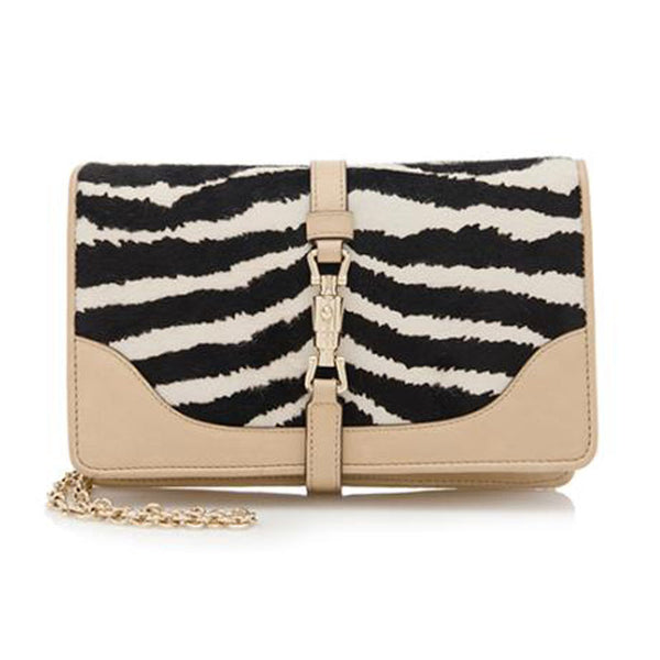 GUCCI Calf Hair Shoulder Bag - FABULUXE