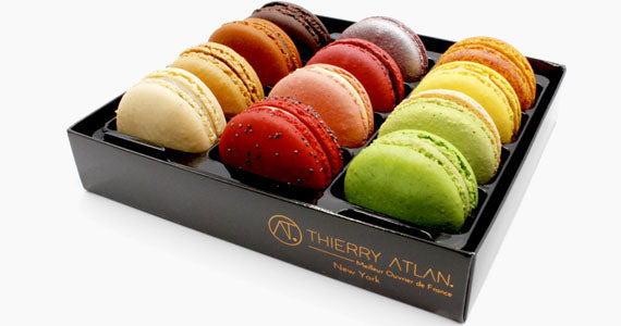 The best Macarons New York City NYC - Chef pastry Thierry ATLAN
