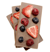 Milk Dried Fruit Bars, 4pc - Online store New York Chocolates, Thierry Atlan