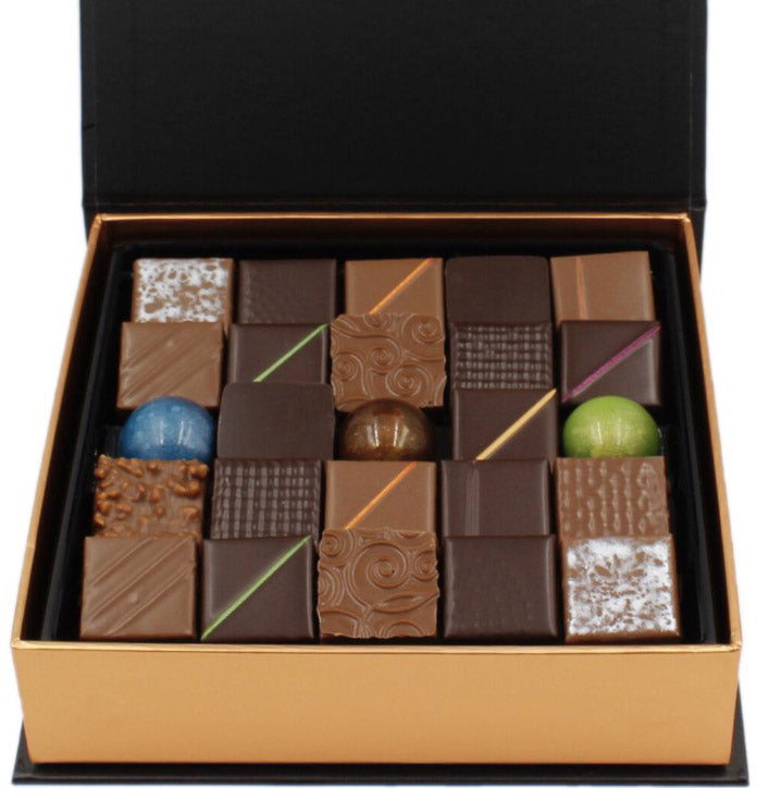 Assorted Chocolate Box 25 Pc Best Chocolate New York Thierry