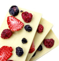 White Dried Fruit Bars, 4pc - Chocolate Shop Online New York, NY, Thierry Atlan