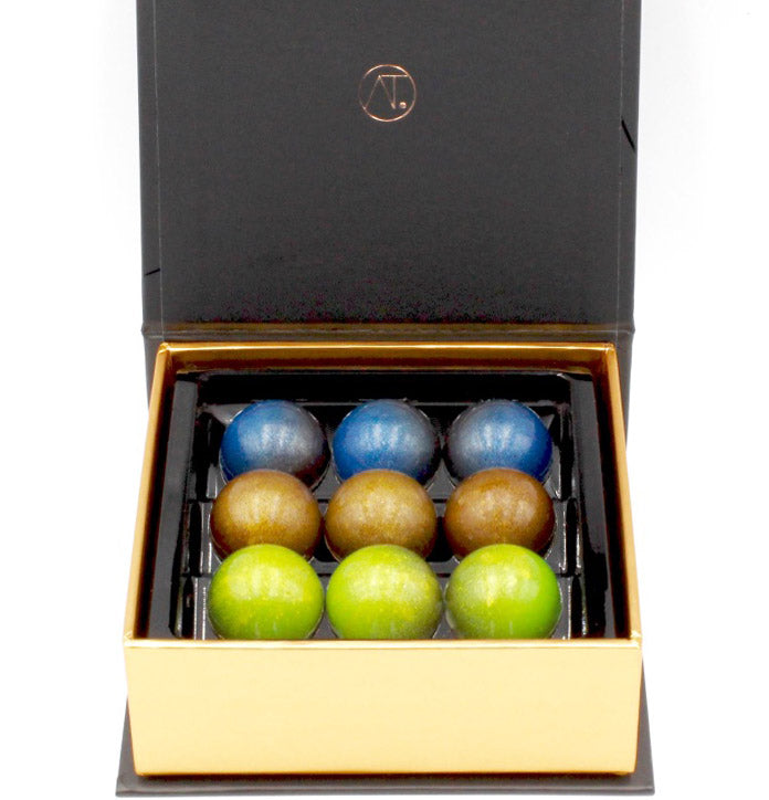 Assorted Caramel Domes, 9pc -  Best Caramel Domes  New York - store chocolate online new york