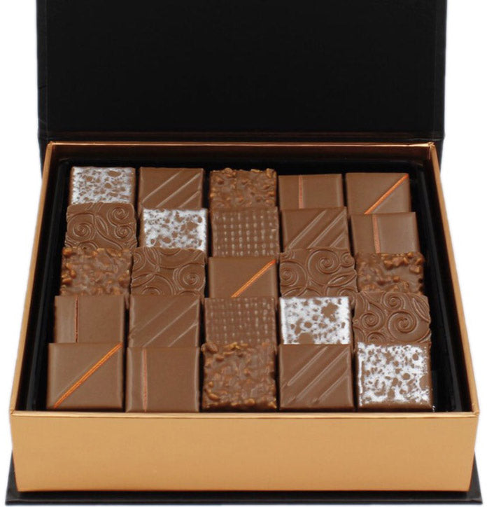 Milk Chocolate Box, 25pc -The best Milk Chocolates New York -  Chocolate Shop Online New York, NY, Thierry Atlan
