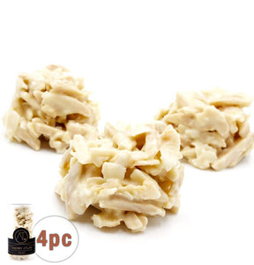 Coconut Almond Clusters, 4pc - Thierry-ATLAN New york