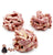 Raspberry Almond Clusters, 4pc - Online store New York Chocolates, Thierry Atlan