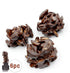 Dark Almond Clusters, 6pc