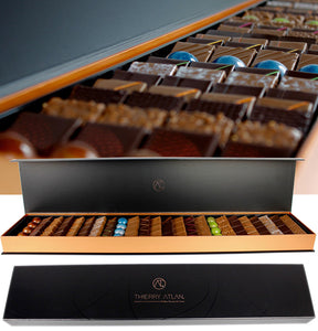 The Best Chocolate New York City, Assorted Chocolate Box, 96pc - Thierry-ATLAN