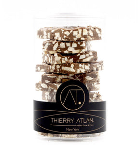 NO SUGAR ADDED Milk Chocolate Bark, 8pc - Thierry-ATLAN