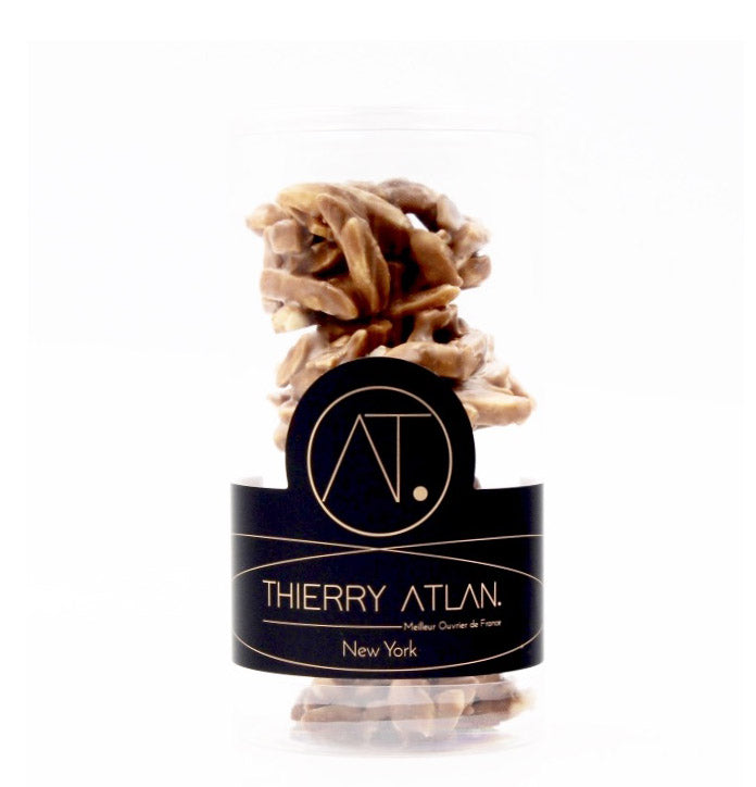 Milk Almond Clusters, 4pc  - Online store New York Chocolates, Thierry Atlan