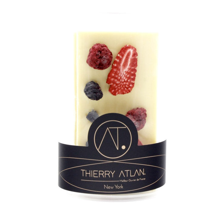 White Dried Fruit Bars, 4pc - Chocolate Shop Online New York, NY, Thierry Atlan - Online store New York Chocolates, Thierry Atlan
