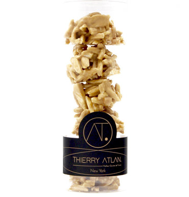 Caramel Almond Clusters, 6pc - Thierry Atlan - online store - Chocolate