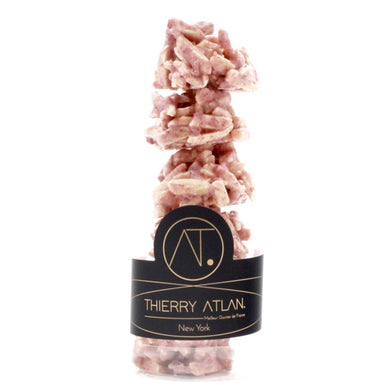 Raspberry Almond Clusters, 6pc - Online store New York Chocolates, Thierry Atlan - Chocolate Shop Online New York, NY, Thierry Atlan