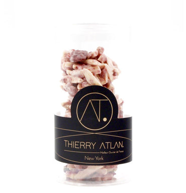 Raspberry Almond Clusters, 4pc - Online store New York Chocolates, Thierry Atlan - Chocolate Shop Online New York, NY, Thierry Atlan