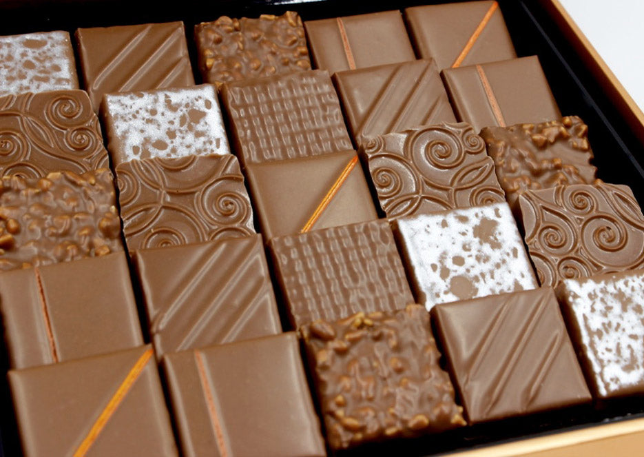 Milk Chocolate Box, 25pc - The best Milk Chocolate New York City - Chocolate Shop Online New York, NY, Thierry Atlan