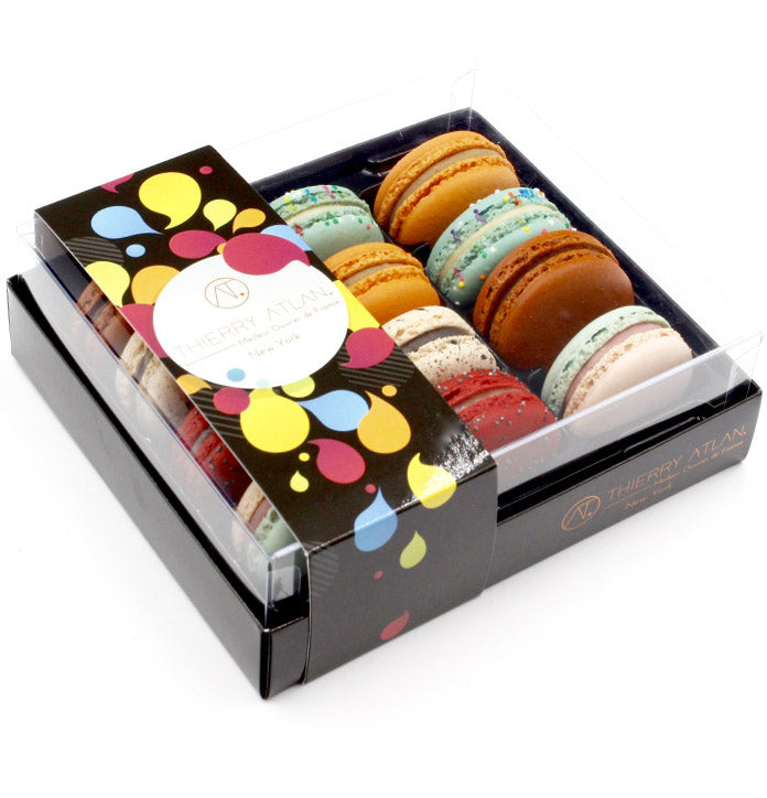 macarons - The American Flavors Box, 12pc - the best macarons new york