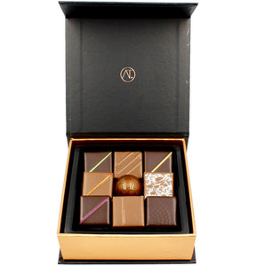 Assorted Chocolate Box, 9pc - Thierry-ATLAN Best Chocolate New York