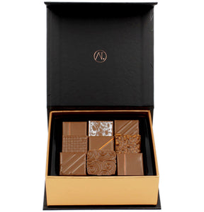 Milk Chocolate Box, 9pc - Thierry-ATLAN