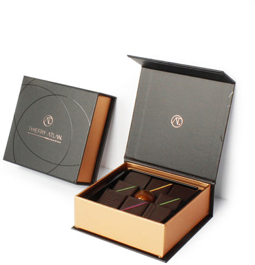 Dark Chocolate Box, 9pc - Thierry Atlan - The best Chocolate Box New York - online store New York - Chocolate