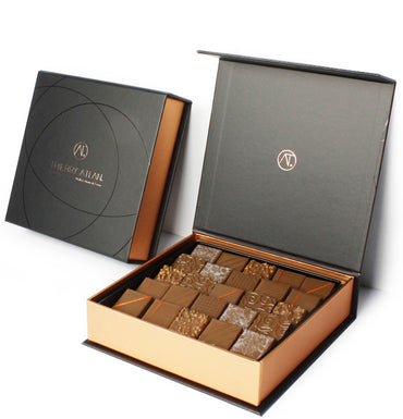 Milk Chocolate Box, 25pc - The best Milk Chocolate Box New York - Chocolate Shop Online New York, NY, Thierry Atlan