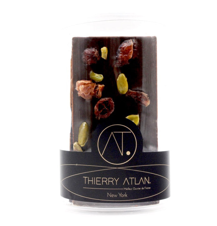 Dark Dried Fruit & Nuts Bars, 5pc - store chocolate online new york Thierry Atlan