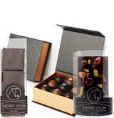 Box6 - Caramel Collection, 9pc + Chocolate Covered Marshmallows, 3pc + Dark Dried...